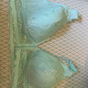 Maurice's Plus Size 2 Turquoise Brassiere Bra